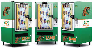 Mechanical Snack Vending Machine Classy Business Auxiliary Services Florida Agricultural And Mechanical