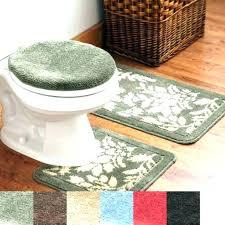 toilet rugs bathroom rug sets 3 piece bath rug sets bathroom rugs set small size of