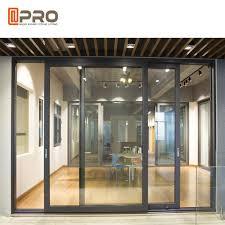 powder coated aluminium sliding glass
