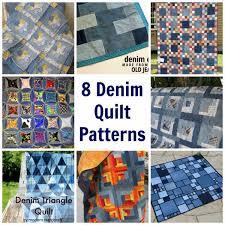 8 Denim Quilt Patterns – Quilting &  Adamdwight.com