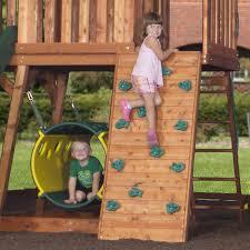 backyard discovery climbing wall