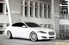 White-Jaguar-XF-Savini-Wheels-BM4-Machined-Silver-  E