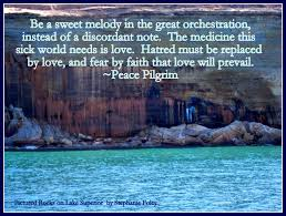 Peace Pilgrim Quotes Impressive Peace Pilgrim Quote