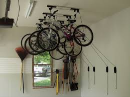 Ceiling bicycle garage storage The Idea of Bicycle Garage Storage
