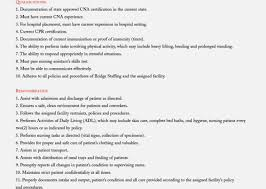 Full Size of Resume:bartender Job Description Resume Amazing Cna Job  Description For Resume Bartender ...