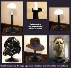 Mask Display Stands Adjustable Display Stand Tom Spina Designs Tom Spina Designs 2