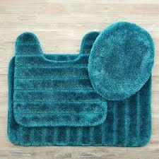 veranda bath rug teal set mohawk home n bathroom home memory foam bath rugs