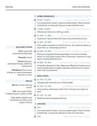 Download Word Resume Templates Monzaberglauf Verbandcom