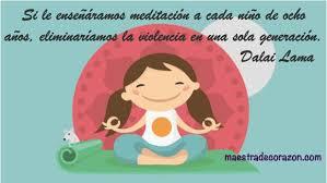 Image result for chicos meditando