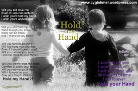 Hold My Hand Wow Hand Quotes Hold My Hand 6 Word Memoirs