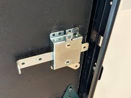 garage door side lock with spring loaded bolt ideal security inc garage door side lock with