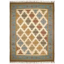 blue grey hacienda wool 10 ft x 14 ft area rug