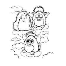Leuk Voor Kids Furbies Kleurplaten