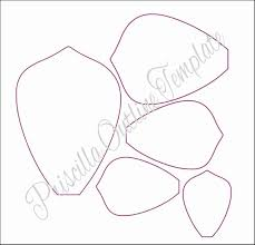 Giant Paper Flower Template Pdf Paper Rose Template Pdf Wilkesworks