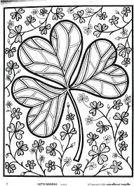 Patrick's animals, shamrocks, pot of gold and more fun coloring pages. St Patricks Day Coloring Pages Coloring Rocks