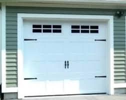 haas insulated garage door 3 years old 9 x8