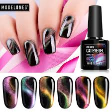 Modelones 10ml 3d Magnetic Cat Eye Gel Nail Polish Soak Off Uv Led Manicure Art