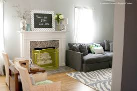 spray painted fireplace screen