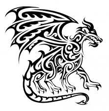 Vektorová Grafika Tribal Tetování Drak 194788806 Fotobanka Fotkyfoto