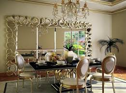 dining room wall decor with mirror. Full Size Of House:mirror On Dining Room Wall Decor With Intended For Decorating Ideas Mirror W