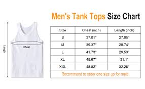 Tank Top Size Chart Men Leapparel Mens 3d Print Tank Tops Summer Casual Work Out Sleeveless Graphics Tees Sport Gym Shirt