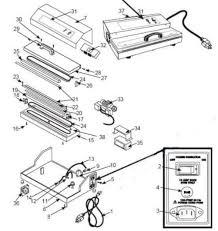 parts for weston pro 2100 2300 cabella s cg 15 vacuum bag sealers contact us