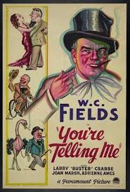 Amazon.com: Photo: William Claude Fields in 'You're Telling Me', 1934,  motion picture poster: Posters & Prints