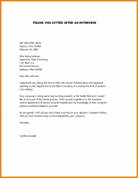Thank You After Interview Template Hatch Urbanskript Co Sample Thank