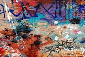 grunge graffiti wallpaper feature