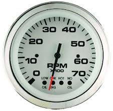 omc system check boat parts teleflex lido series boat tachometer gauge omc outboard system check 64477fp