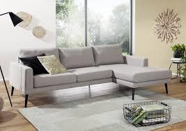 Sofa Wohnlandschaft 242x95x86 Kaki Niklas