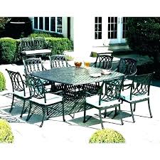 square patio table for 8 8 person patio dining set 6 person patio table 8 person