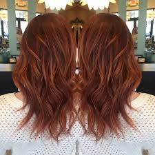 Red Base With Rich Copper Balayage