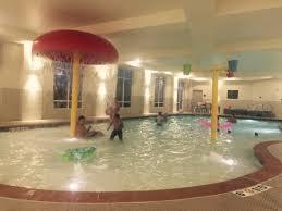 Hampton Inn & Suites Oklahoma City Airport: Best indoor pool ever!