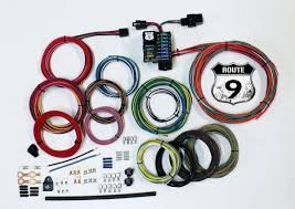 power plus series custom street rod wiring harness kits american route 9 universal wiring system