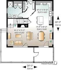 1st level screened porch cottage house plan walkout basement open floor plan fireplace