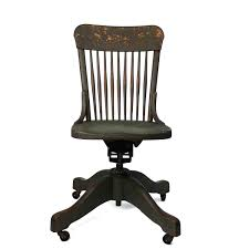 armless executive chair. Vintage Wood Antique Office Chair Armless Executive