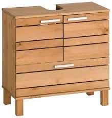 Waschbecken Mit Unterschrank Holz Waschbeckenunterschrank Massivholz