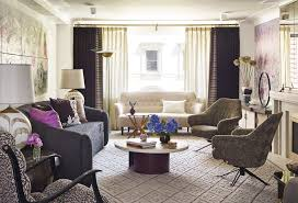 Lavender Living Room Lavender Vintage Nyc Apartment With Modern Accents