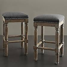 gray counter stools. Renate Grey Counter Stools (Set Of 2) By Gray D