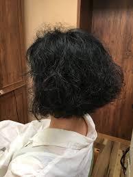 縮毛矯正を辞めたい 癖を活かした髪型