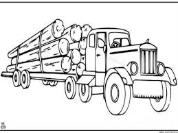 logging coloring pages 38 semi truck coloring page free coloring pages of kenworth semi