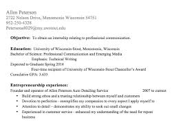 awesome entrepreneurial experience resume contemporary simple