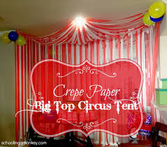 hosting a circus party don t forget the big top circus tent use