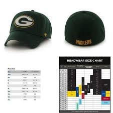 Green Bay Packers Brand 47 Fitted Hat Recycled Material
