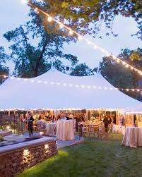 lighting ideas for weddings. outdoor wedding lighting ideas from real celebrations martha stewart weddings for