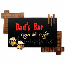 Shop from wide range of wall decor item like mirror, metal wall art more for bedroom office decor products at kraphy. Buy Dads Bar Living Room Decorative Art Piece Online In India Panchatatva