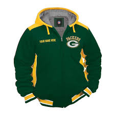the green bay packers jacket front