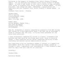Cover Letter Sample For Job Application Fresh Graduate New Resume ...