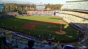 Dodger Stadium Infield Reserve 9 Rateyourseats Com